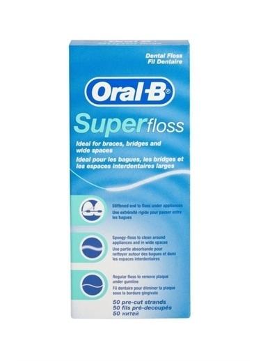 Oral-B Oral B Superfloss Diş Ipi Renkli